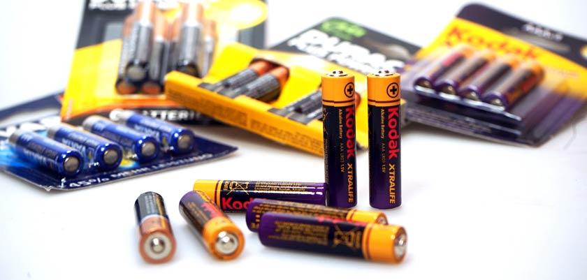 AAA-Batterien